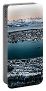 Tromso From The Mountains Portable Battery Charger