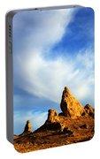 Trona Pinnacles California Portable Battery Charger