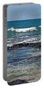 Tropical Beach Seascape Art Prints Portable Battery Charger