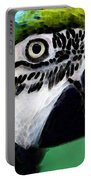 Tropical Bird - Colorful Macaw Portable Battery Charger