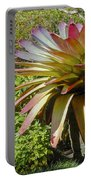Tropical Bromeliad Portable Battery Charger
