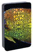 Tropical Fish 12 - Abstract Art By Sharon Cummings Portable Battery Charger