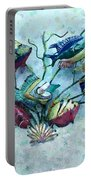 Tropical Fish 4 Portable Battery Charger