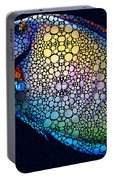 Tropical Fish Art 6 - Painting By Sharon Cummings Portable Battery Charger