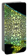 Tropical Fish Art 8 - Abstract Mosaic By Sharon Cummings Portable Battery Charger