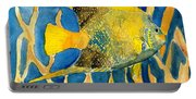 Tropical Fish Art Print Portable Battery Charger