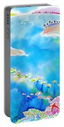 Tropical Fishes Portable Battery Charger