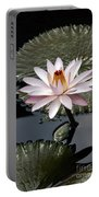 Tropical Floral Elegance Portable Battery Charger