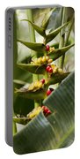 Tropical Fountain Of Seeds Portable Battery Charger