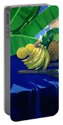 Tropical Fruit Portable Battery Charger by Lincoln Seligman