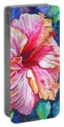 Tropical Hibiscus 4 Portable Battery Charger