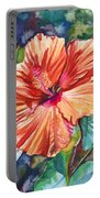 Tropical Hibiscus 5 Portable Battery Charger