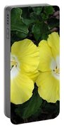 Tropical Hibiscus - Bonaire Wind 01 Portable Battery Charger