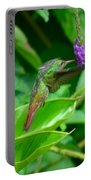 Tropical Hummingbird Portable Battery Charger