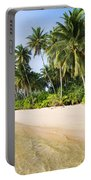 Tropical Island Beach Scenery Portable Battery Charger
