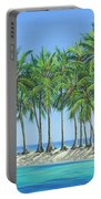 Tropical Lagoon Portable Battery Charger
