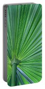 Tropical Leaf Portable Battery Charger