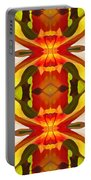 Tropical Leaf Pattern 17 Portable Battery Charger
