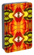 Tropical Leaf Pattern 7 Portable Battery Charger