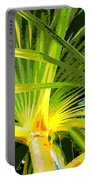 Tropical  Leaves Portable Battery Charger