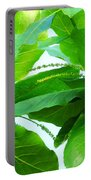 Tropical Noni Leaves Portable Battery Charger