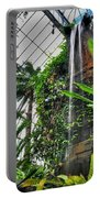 Tropical Paradise Falling Waters Buffalo Botanical Gardens Series   Portable Battery Charger