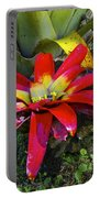 Tropical Plant Colors Portable Battery Charger