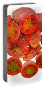 Tropical Red Prickly Pear Fruit  Portable Battery Charger