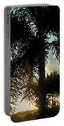 Tropical Silhouette Portable Battery Charger