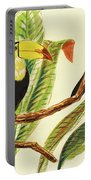 Tropical Toucans II Portable Battery Charger