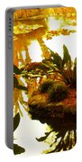 Tropical Water Garden Portable Battery Charger