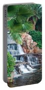 Tropical Waterfall 1 Portable Battery Charger