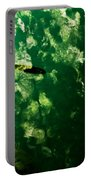Trout In Emerald Portable Battery Charger