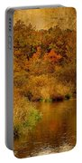 Trout Stream Textured Portable Battery Charger