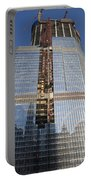 Trump International Hotel Under Construction Chicago Portable Battery Charger