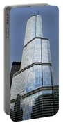 Trump Tower Facade 3 Letter Signage Portable Battery Charger