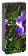 Trumpet Vine In Apache Junction-arizona   Portable Battery Charger