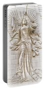 Trumpeting Angel Portable Battery Charger
