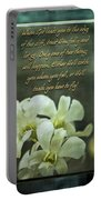 Trusting God Portable Battery Charger