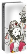 Tsar And Courtiers Portable Battery Charger