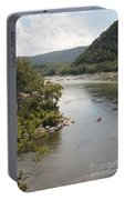 Tubing On The Potomac River At Harpers Ferry Portable Battery Charger