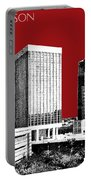 Tucson Skyline 1 - Dark Red Portable Battery Charger