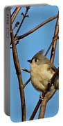 Tufted Titmouse Portable Battery Charger