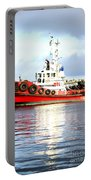 Tugboat Captain Portable Battery Charger