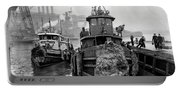 Tugboat Winter  1946 Portable Battery Charger