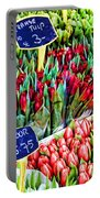 Tulips Tulips Tulips By Diana Sainz Portable Battery Charger