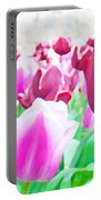 Tulip Delight Portable Battery Charger