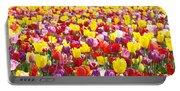 Tulip Flower Festival Art Prints Spring Portable Battery Charger
