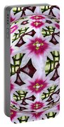 Tulip Kaleidoscope Under Glass Portable Battery Charger