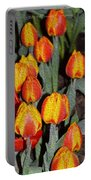 Tulip Mania Portable Battery Charger
